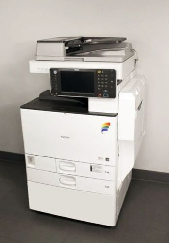 Ricoh Aficio Mp C5502 A3 Color Laser Copier Printer Scanner Mfp 55 Ppm Mp C4502