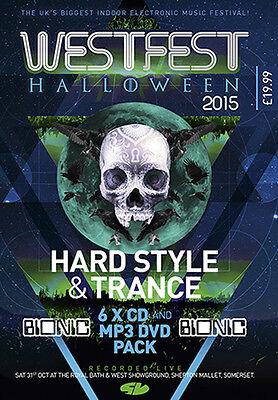 Westfest 2015 – Hard Style & Hard Trance CD Pack   (WF15BI) (Halloween Trance)