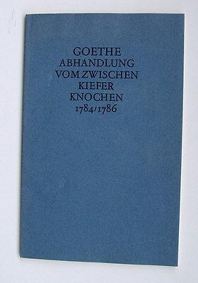Wolfgang von Goethe Kieferknochen Schädel Knochen Weimar Skelett Kiefer Anatomie