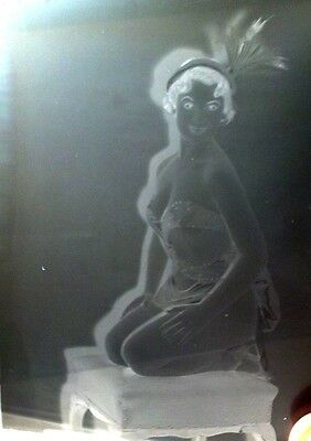 VINTAGE/ANTIQUE GLASS NEGATIVE PHOTOGRAPHY PLATE. HISTORICAL IMAGE