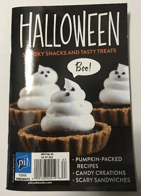 Halloween Spooky Snacks Treats Recipes Candy (digest/small) 83 '18 FREE SHIPPING - Spooky Halloween Recipes Treats