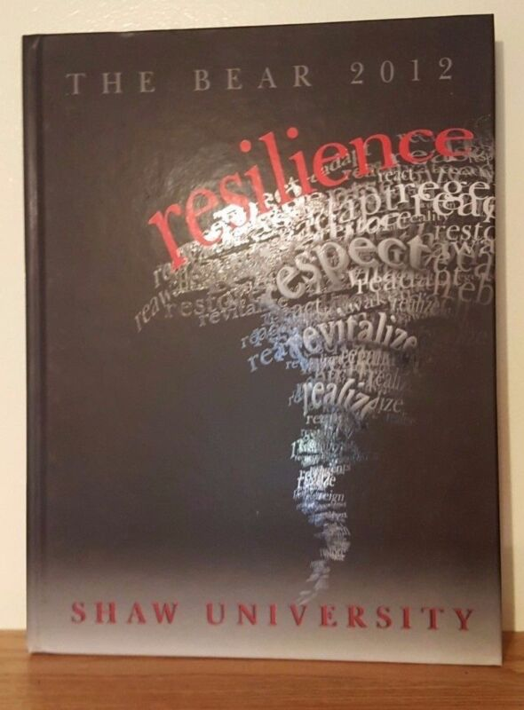 The Bear 2012 Shaw University Yearbook Annual from Raleigh, North Carolina