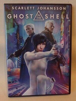 Ghost In The Shell  Scarlett Johansson  Dvd  Case   Cover Artwork Included