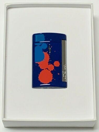 S.T. Dupont MiniJet Torch Lighter   Purple Splash   BRAND NEW STOCK   010518  
