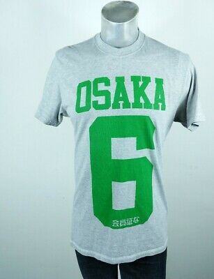 Superdry Osaka 6 grey T Shirt 2XL Fits Like Medium