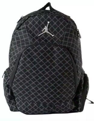 da8b0d56de1d NIKE AIR JORDAN Jumpman 23 Backpack Laptop Sleeve Black 9A1115-023 NEW WITH  TAGS