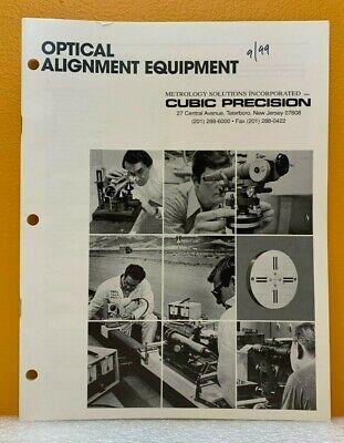 Cubic Precision 1988 Optical Alignment Equipment Catalog.