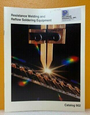 Hughes Aircraft Co. 1991 Resistance Welding Reflow Soldering Equip Catalog 902