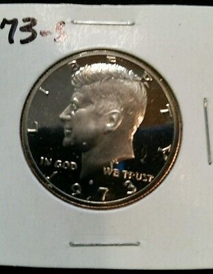 1973-S US PROOF KENNEDY HALF DOLLAR FROM US PROOF SET