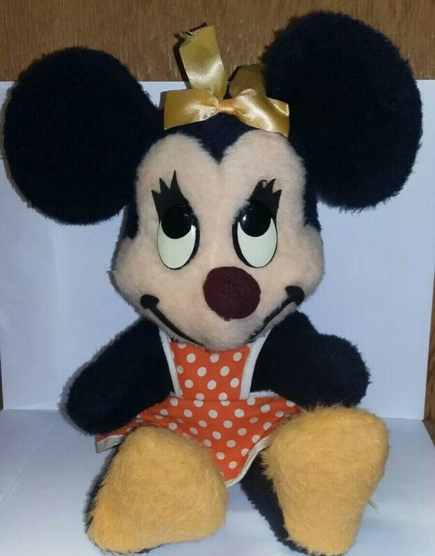 Minnie Mouse Plush California Stuffed Toys Walt Disney 14.5 inches Vintage Plush