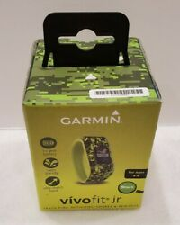 Garmin Vivofit Jr Activity Tracker for Kids Ages 4 to 9- Digi Camo Green