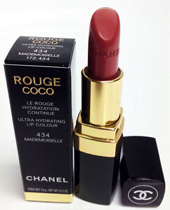 chanel rouge coco lipstick ultra hydrating lip colour 434 mademoiselle 0 12oz. Black Bedroom Furniture Sets. Home Design Ideas