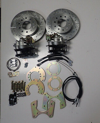 mopar 8-3/4 dana 60 rear disc brake conversion dual bolt pattern