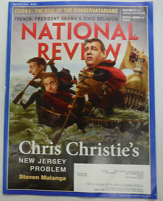 National Review Magazine Chris Christie   Cooke   French March 2015 051915R2