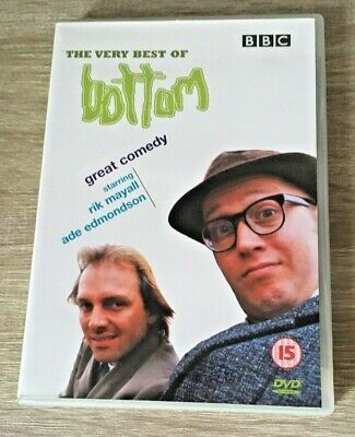 BBC THE VERY BEST OF BOTTOM (DVD, 2002) RIK MAYALL COMEDY TV SERIES