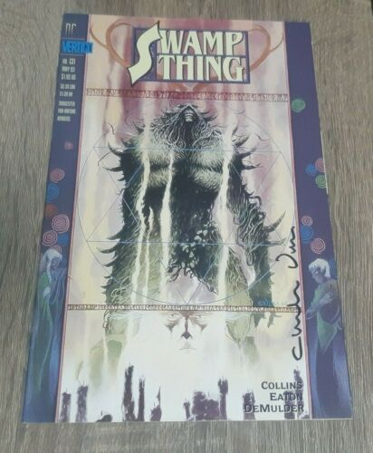 SWAMP THING #131 SIGNED CHARLES VESS  #1135 JUSTICE LEAUGE DARK