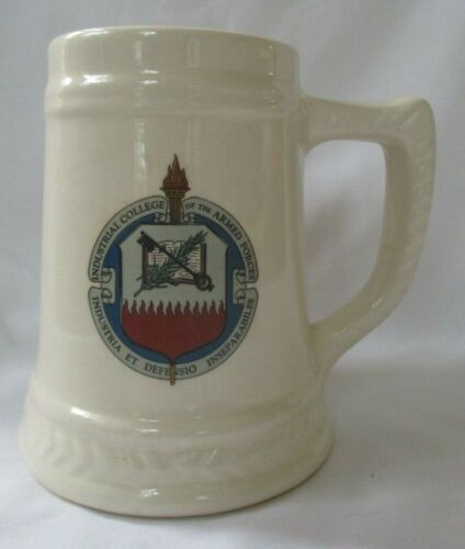 INDUSTRIAL COLLEGE OF THE ARMED FORCES BEER STEIN MUG