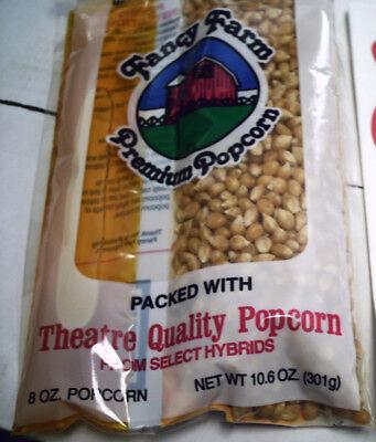 Fancy Farm Movie Popcorn Coconut Oil Salt Party Kit 10 Paks 100 Bags