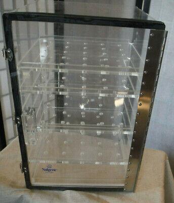 Nalgene Acrylic 5317-0180 Desiccator Cabinet 4 Shelves 12 X 12 X 18