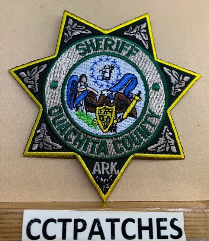 OUACHITA COUNTY, ARKANSAS SHERIFF (POLICE) SHOULDER PATCH AR