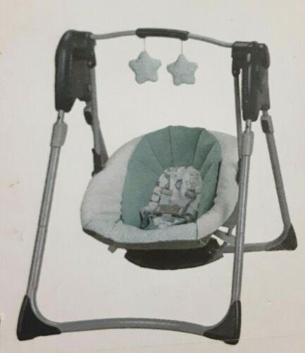 Graco Slim Spaces Compact Baby Swing Lionel Edition