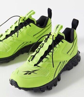 Reebok Running Hiking Gym DMXPERT EG7937 Neon Yellow Sneakers Womens Size 8...