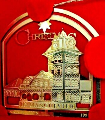 1997 Easter Seals-Xmas in Manchester, NH Collector's Xmas Ornament in 24K Gold ()