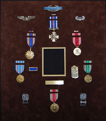 WWII Named 15th AAF Medal & Insignia Group DFC, Air Medal, Wings, Dog Tag & More