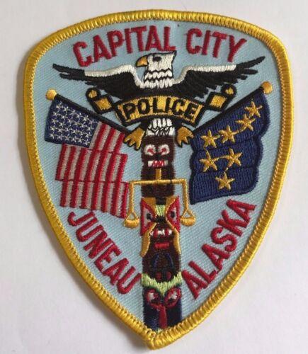 Capital City Juneau Alaska Police Department Cloth Patch