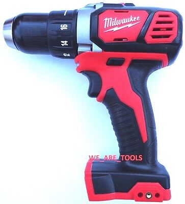 New Milwaukee 2606 20 18V 1 2  Cordless Compact Drill Driver M18 18 Volt Li Ion