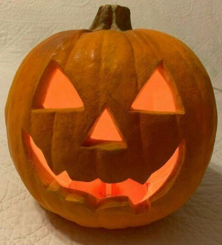 Vtg 1993 Trendmasters Light Up Foam Pumpkin Jack O
