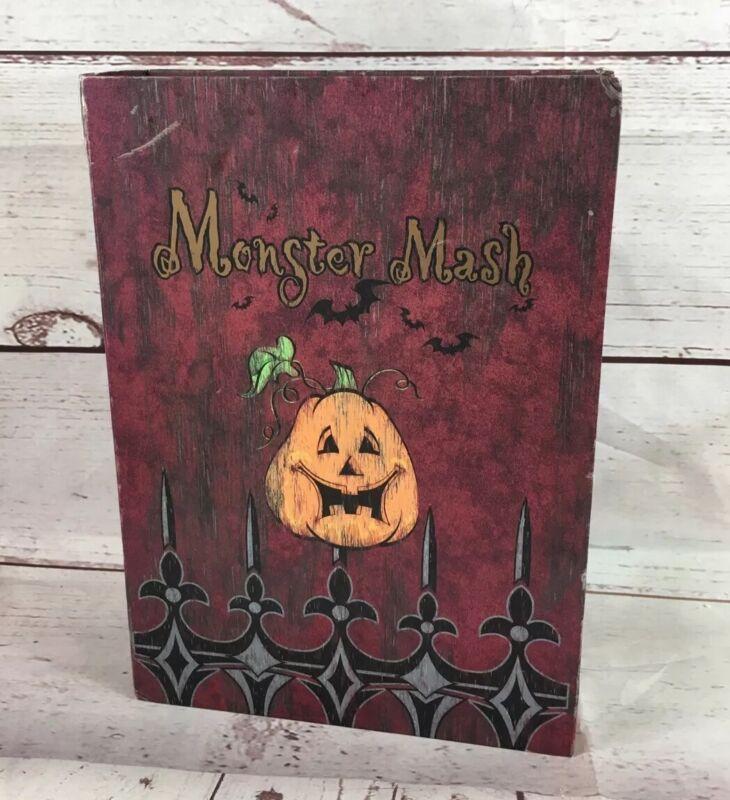 Monster Mash Halloween Animated Musical Book Blue Ridge Design Not Working