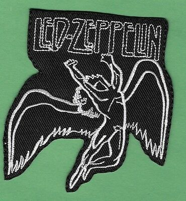 "New Led Zeppelin 3 1/2 X 3  "" Inch Iron on Patch Free Shipping"