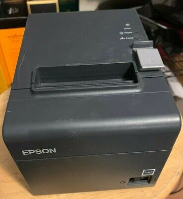 Epson Tm-t20 M249a Pos Thermal Receipt Printer Usb Tested Includes 2 Cables