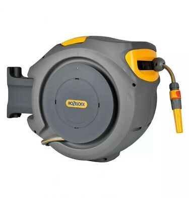 Hozelock 30m Auto Reel With Hose Wall Mounted Rectractable Hose Reel 2403