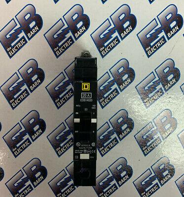 Square D Edb14020 20 Amp 1 Pole 277 Volt Circuit Breaker- New