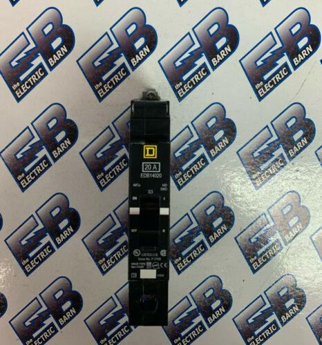 Square D EDB14020, 20 Amp 1 Pole 277 Volt Circuit Breaker- NEW