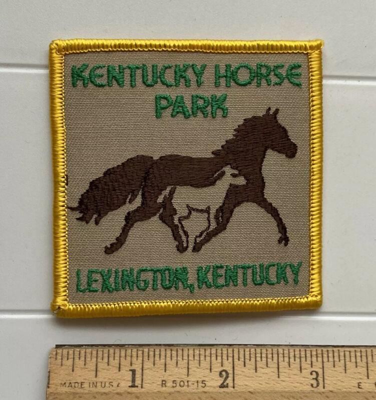 Kentucky Horse Park Lexington KY Souvenir Embroidered Patch Badge