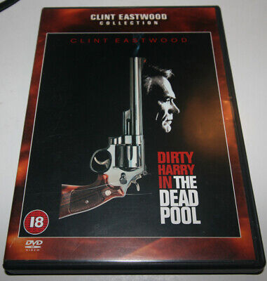 The Dead Pool DVD Clint Eastwood, Dirty Harry Callahan, Liam Neeson