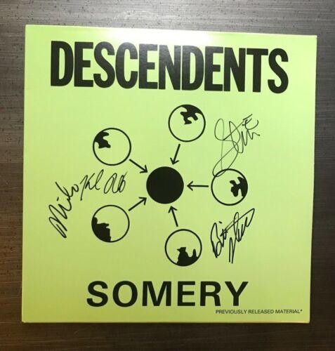 * THE DESCENDENTS * signed vinyl album * SOMERY * MILO, STEVE, BILL & KARL * 1