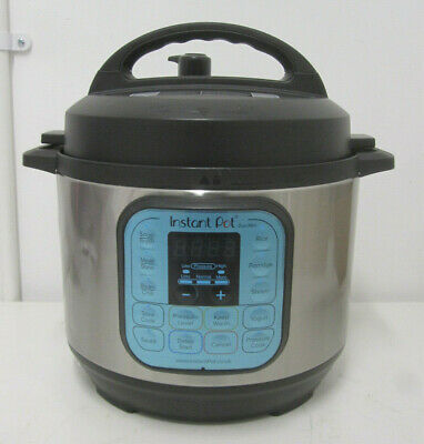 """Instant Pot IPDuo-30 Duo Mini 7-in-1 Pressure Cooker 700 W, 3L """"Base Only"""""""