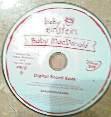 Baby Einstein: Baby MacDonald: A Day on the Farm (Disney DVD, 2004), Disc Only