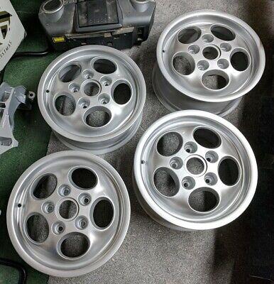 "4 x Refurbished Porsche 924S 15"" Inch Teledial Alloy Wheels Offset 6J/7J ET52.3"