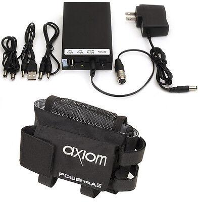 Hirose Cable 12v DC Battery Tripod Bag, Powers B4 Video Lens Panasonic AF100 GH2