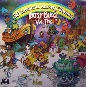 PATSY-BISCOE-Sings-Your-Fifty-Favourite-Nursery-Rhymes-VOL-Two-OZ-LP