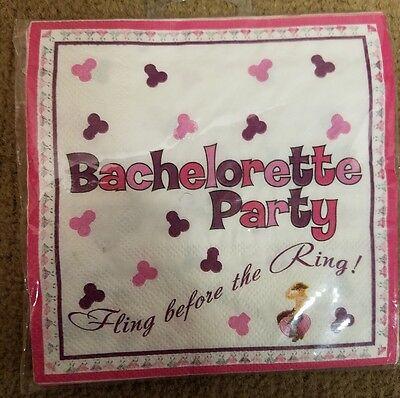 Bachelorette Party Napkins with Trivia Game, 10 Pieces Napkin Trivia Game