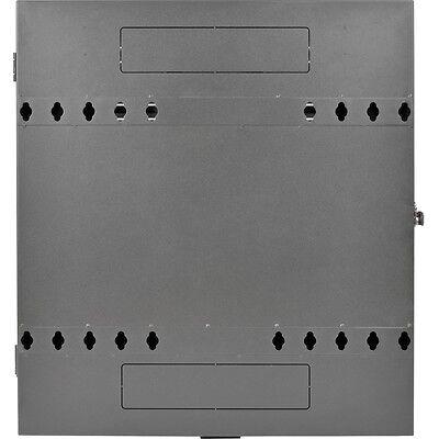 Tripp Lite 2u Wall Mount Low Profile Secure Rack Enclosure Cabinet Vertical -