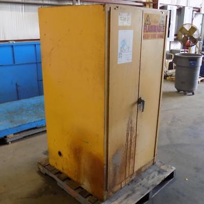 Justrite 60 Gal Safety Cabinet - JUSTRITE 60 GAL. CAPACITY SAFETY STORAGE CABINET 25602