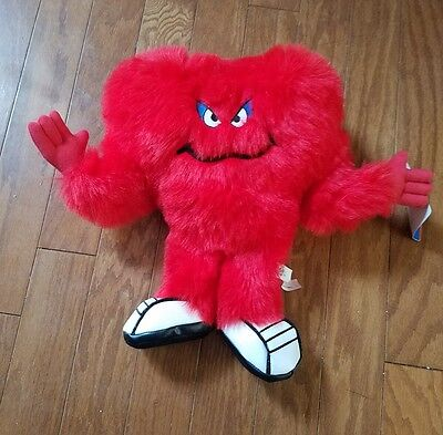Ace - Looney Tunes Toons Red Monster Gossamer Plush 1997 w/Tag 14""
