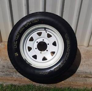 "16"" 4x4 SPARE WHEEL AND TYRE KUMHO 100% TREAD 6 STUD SUNRAYSIA Kallangur Pine Rivers Area Preview"